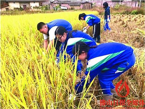 高中高二1300多名师生前往怀集县诗洞镇,进行为期5天的农村综合社会