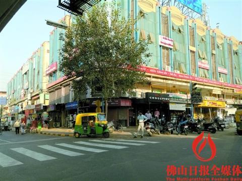 印度古吉拉特邦艾哈迈达巴德市区街景.-龙象共舞 佛企投资印度总额图片