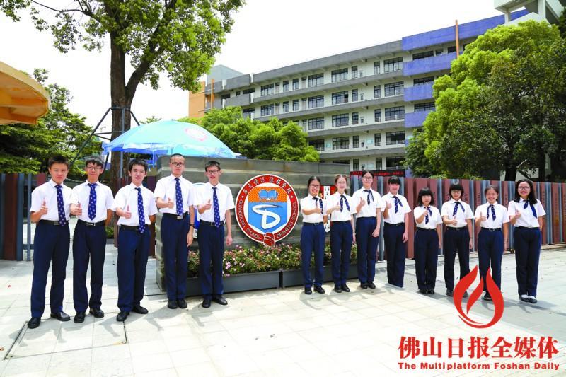 顺德德胜学校_德胜学校13名学生进入顺德区前十名./学校供图