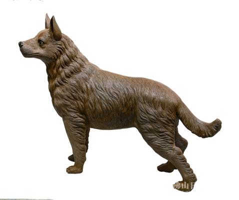 犬吠福禄来 狗年生肖陶瓷作品登场 中国工艺美术大师潘柏林狗年生肖
