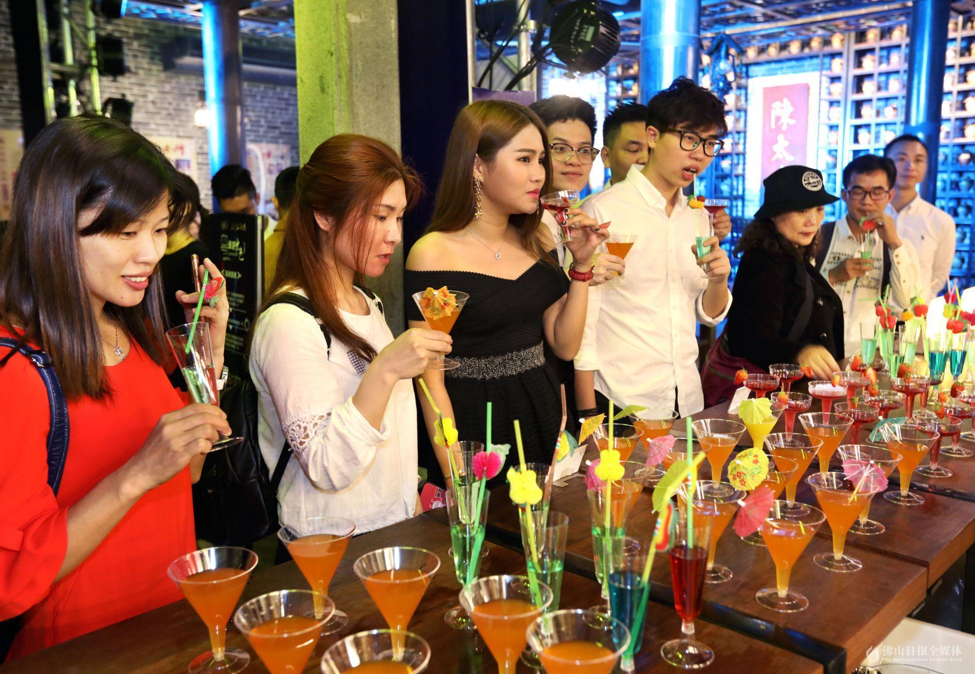 石湾玉冰烧变身鸡尾酒?中西合璧的时尚新口味亮相石湾酒庄