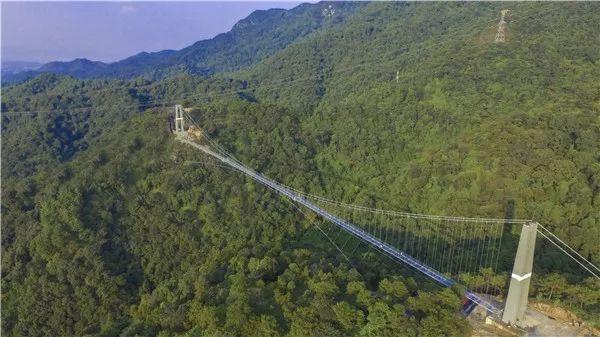 南丹山的玻璃桥
