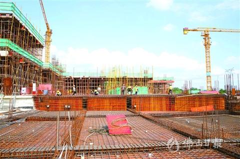 """~5月,三水区的省市重点建设项目累计完成投资42.04亿元"""""""